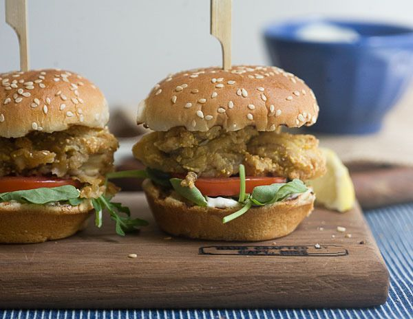 Fried Oyster Sliders by A Cozy Kitchen | Burger and Slider Recipes ...