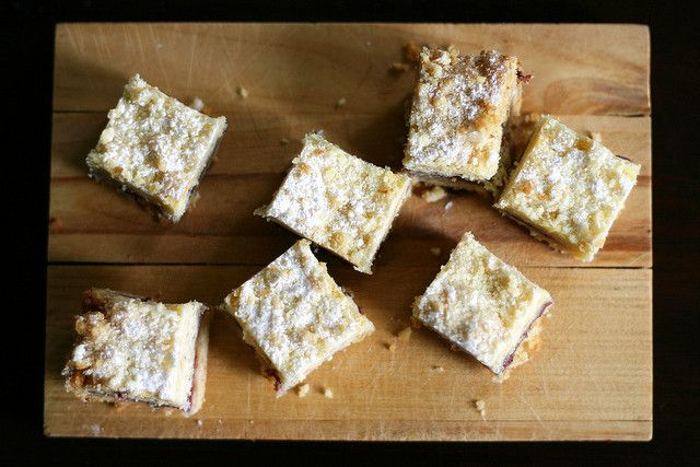 austrian raspberry shortbread | European recipe | Pinterest