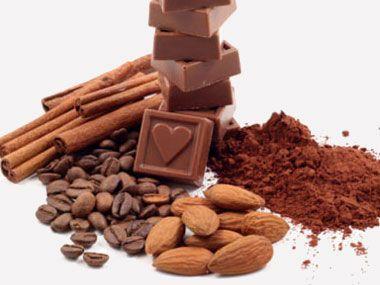... Chocolate ice cream, Kahlúa, chile pequín flakes, cinnamon, almonds