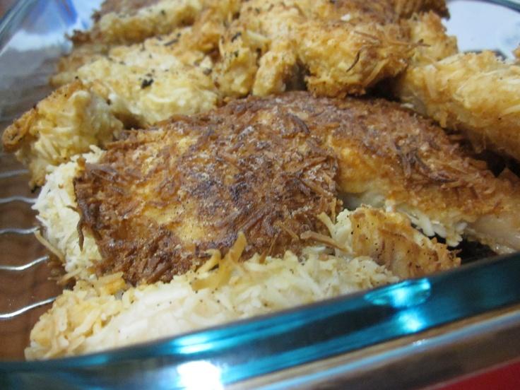 Garlic-Coconut Crispy Fried Chicken Gluten-Free from Cooking American ...