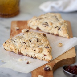 Sour Cherry and Dark Chocolate Scones | Sour Cherry Love! | Pinterest