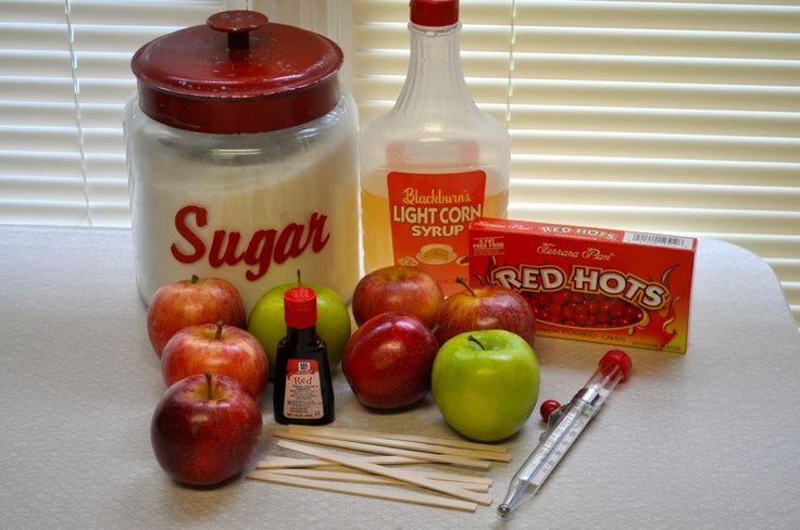 fashioned candy apples