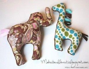 šité hračky | Kids crafts/Tvoření pro děti | Pinterest