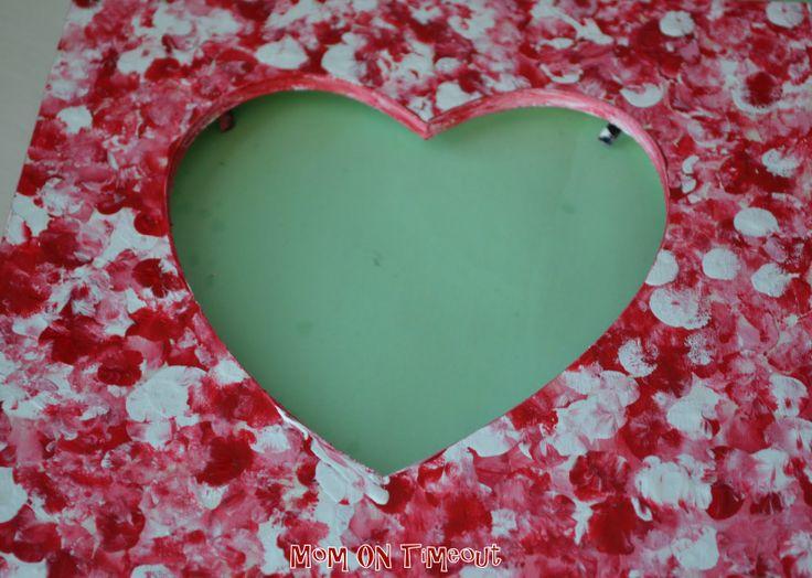 valentine photo frame card