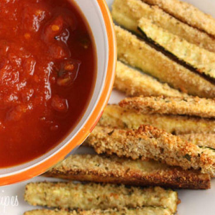 Baked Zucchini Sticks II Recipe | Recipes | Pinterest