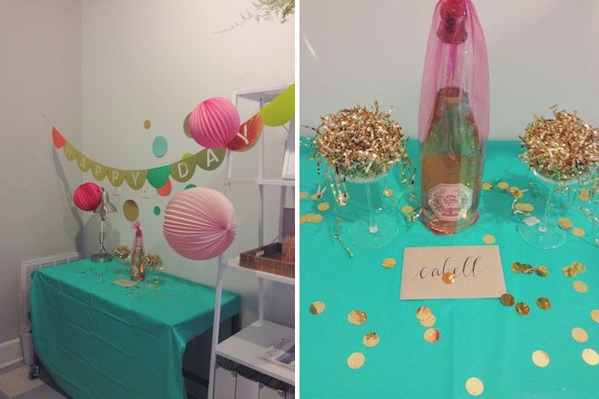 ... Weddings  Wedding Planning VA  Cabell Birthday Desk Decorations