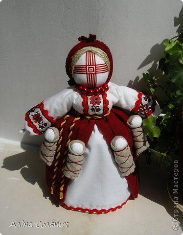 Кукла мотанка из ткани видео