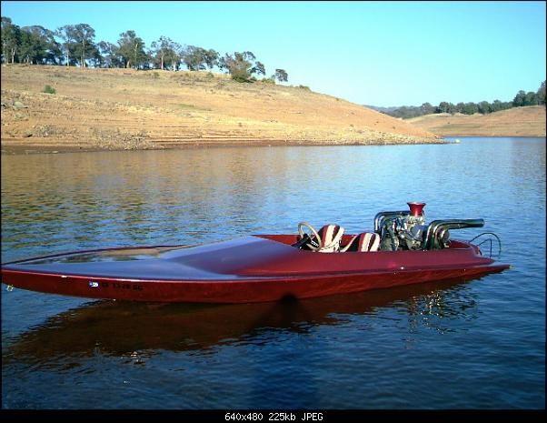 vintage jet boat