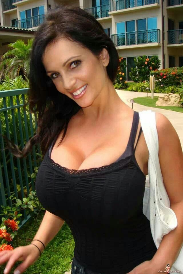 Denise milani busty pinterest