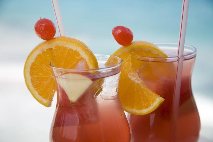 The famous Bajan rum punch | Caribbean | Pinterest