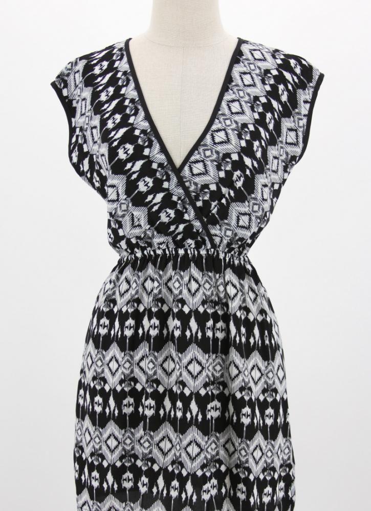Pattern Print Kimono Style Dress: pinterest.com/pin/519954719450973768