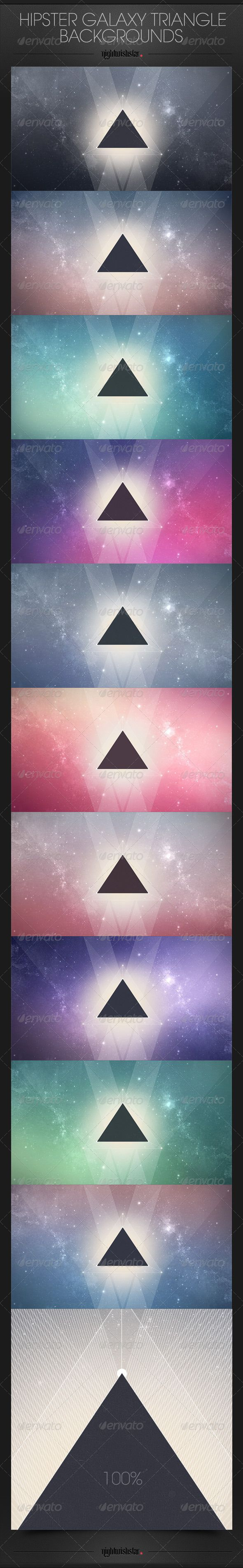 Hipster Galaxy Triangle BackgroundsHipster Backgrounds Galaxy