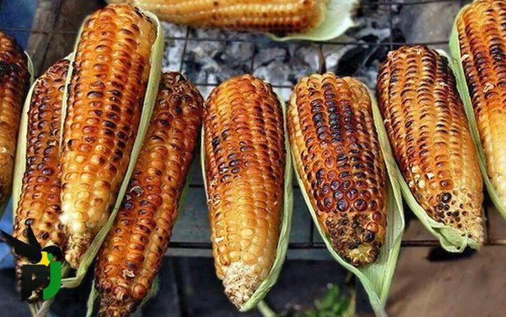 Roast corn | Jamaica Jamaica | Pinterest