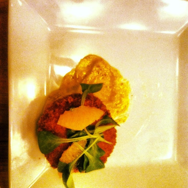 Chesaoeaje Crab Cake, old bay aioli! | Wine and Dine | Pinterest