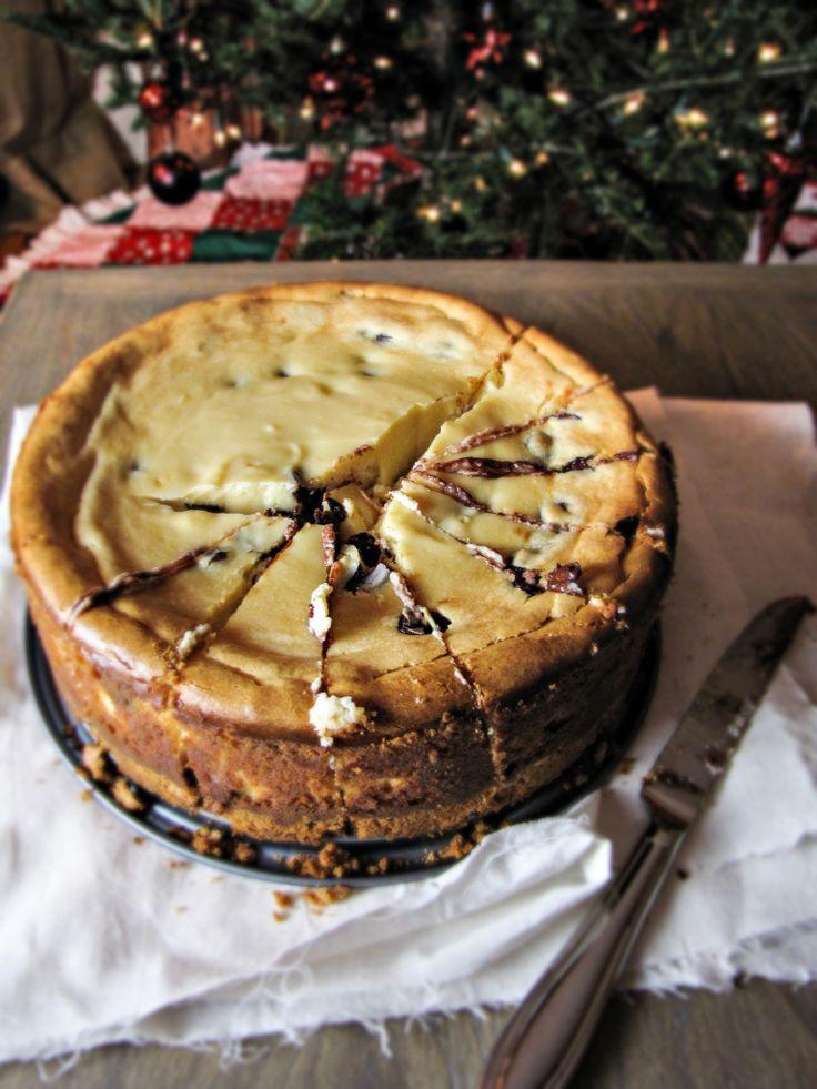 Bailey's Chocolate Chip Cheesecake. Bailey's Irish Cream is the ONLY ...