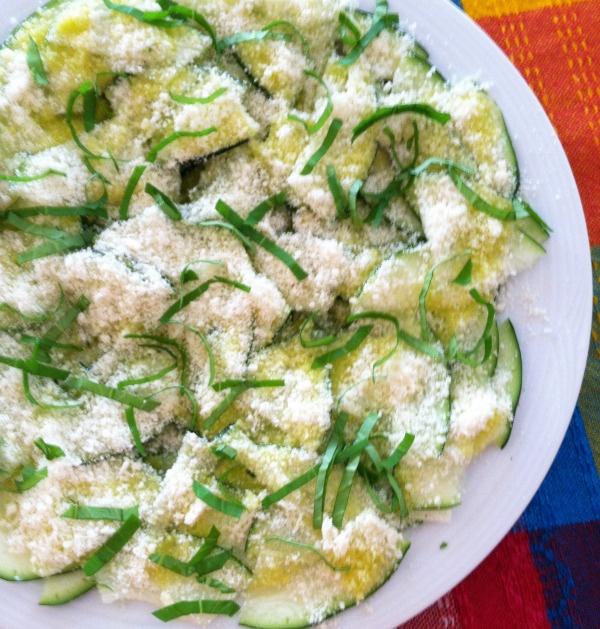 Zucchini Carpaccio | Recipes | Pinterest