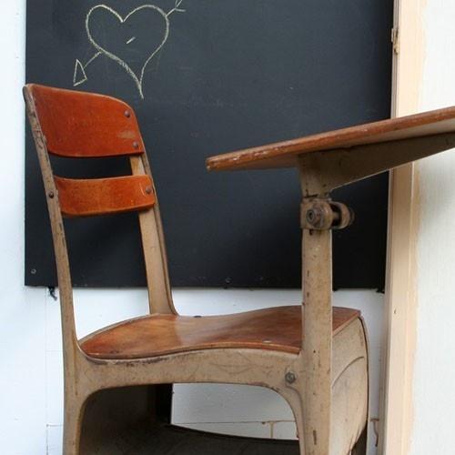 old school school chair classic flashback pinterest