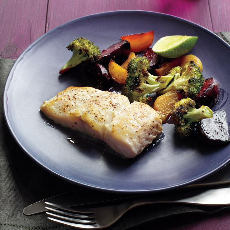 Seared fish with beets and broccoli recipe for Side dish for fish