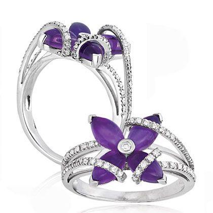 Lovely purple ring