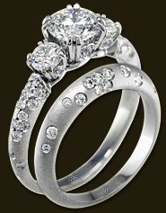 OMG! dream ring, minus the matte finish, has to be white gold.