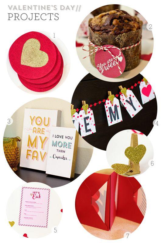 diy valentine's day picture frames