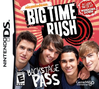 Big Time Rush: Backstage Pass for the DS