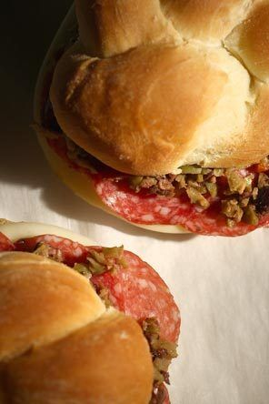 Muffuletta Sandwich | Favorite Recipes | Pinterest