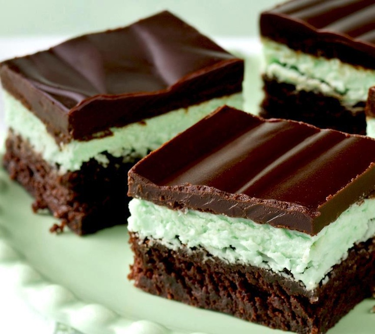 Chocolate Mint Brownies | Recipes | Pinterest