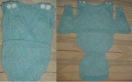 FREE KNITTING PATTERNS FOR ONESIES - VERY SIMPLE FREE ...