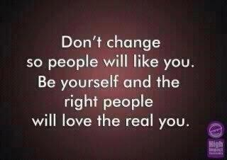 Be the real you