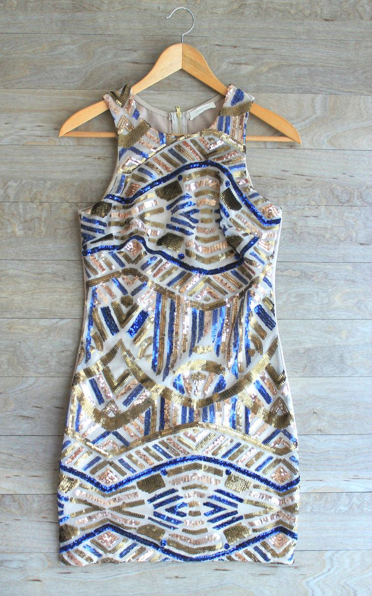 """Cleopatra"" Sequin Dress"