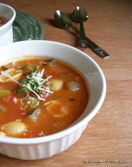 Baking with Blondie : Ratatouille Soup | Recipes | Pinterest