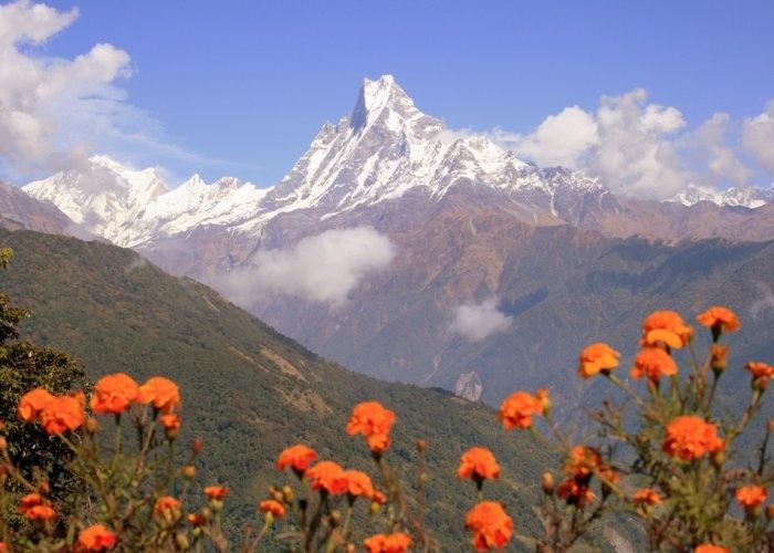 Fishtail Mountain Annapurna Nepal Beautiful Places Pinterest