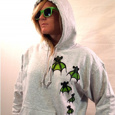 Vampire Squid hoodie. Great for any cephalopod lover! RadCakes.com