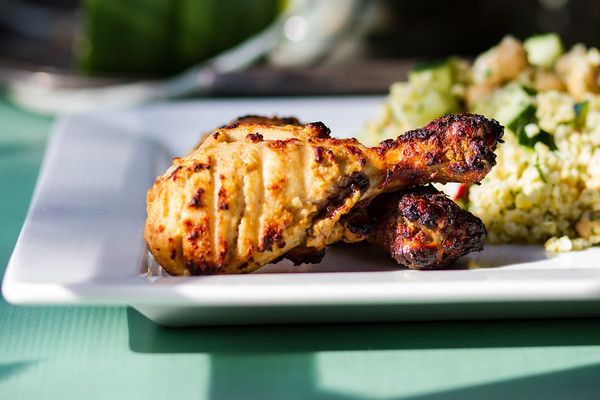 Tandoori Chicken Roll-ups Recipe — Dishmaps