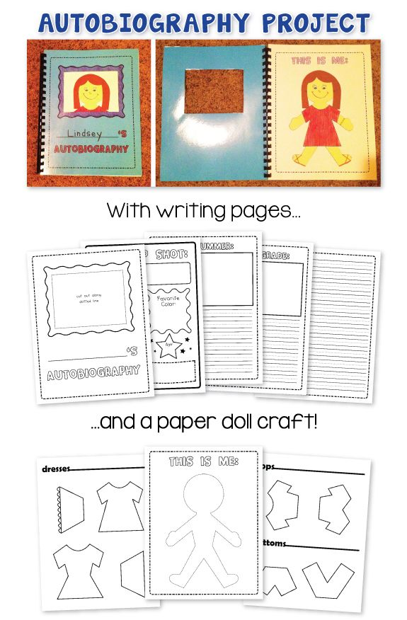Autobiography Project On Pinterest Autobiography Writing