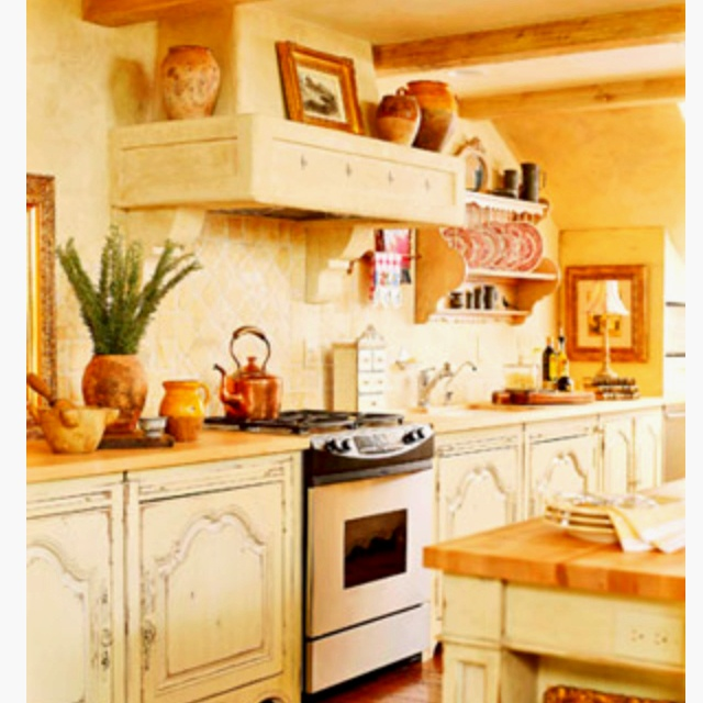 Rustic italian country kitchen home italian villa for Rustic italian kitchen ideas