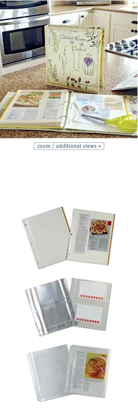 Collected Recipes Book  No searching! Organize clipped recipes in this book