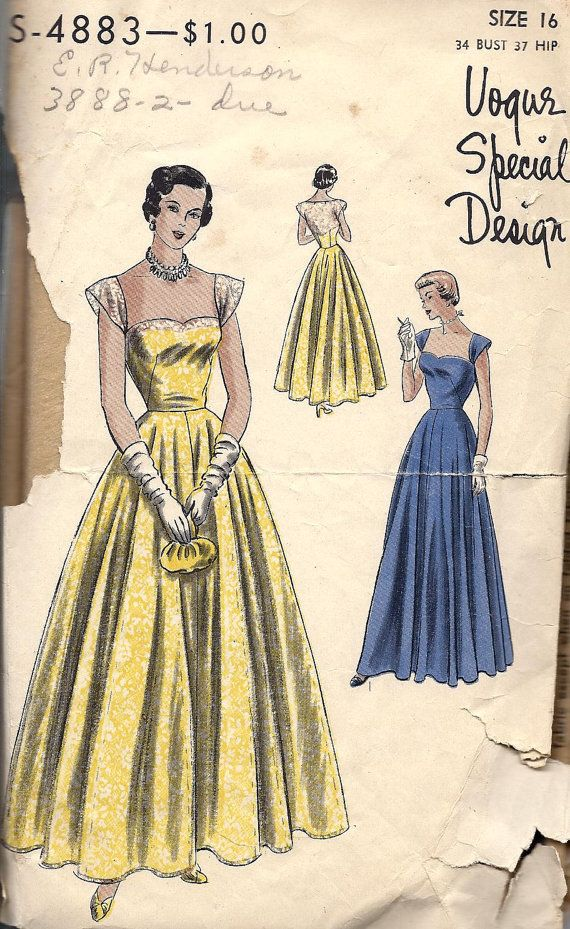 1940s Ball Gowns For Sale - Gown And Dress Gallery