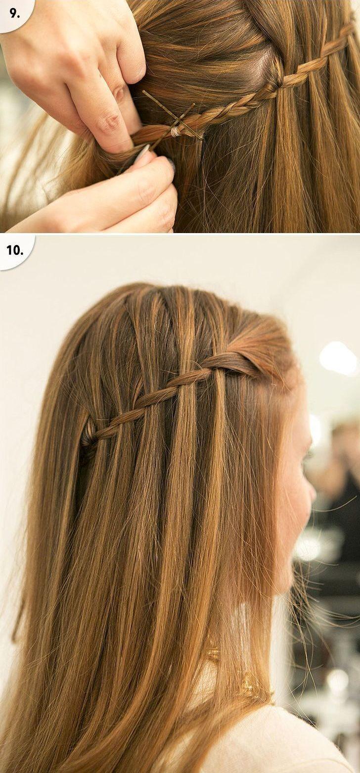 Как себе красиво заплести волосы пошаговое фото