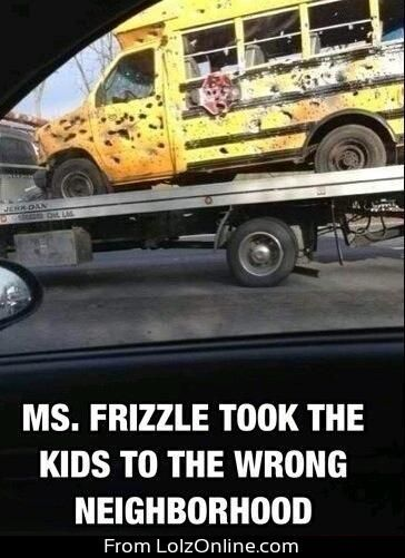 HAHA. Ms. Frizzle and the Magic Schoolbus.