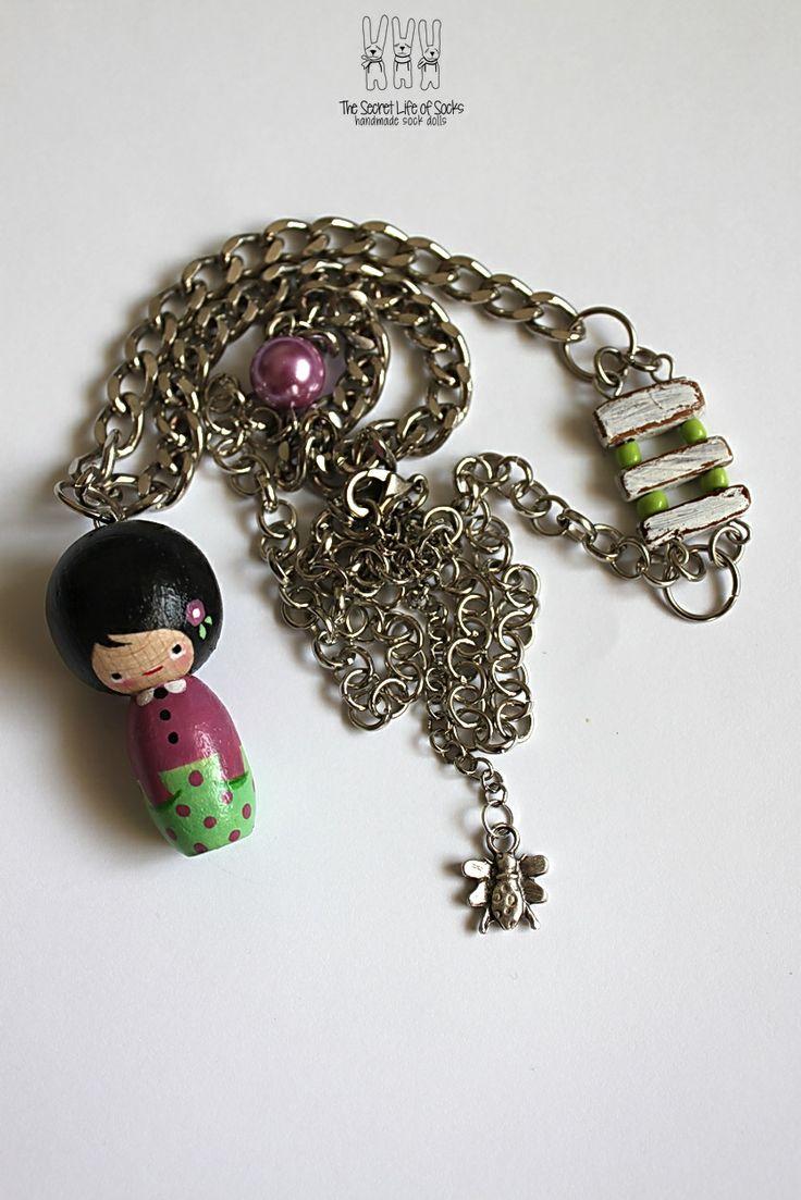 Kokeshi Donda necklaces