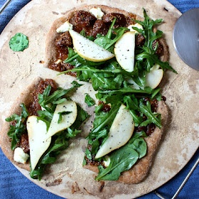 Fig and goat cheese pizza | I'm hungry | Pinterest