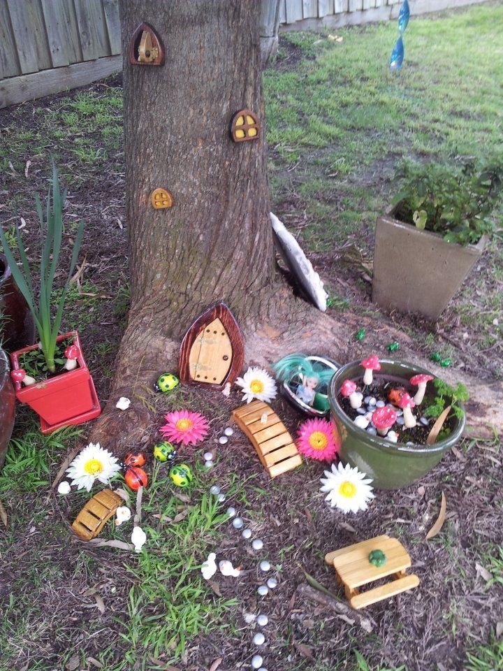 Fairy Garden Homemade Rainbows Fairy Play Pinterest
