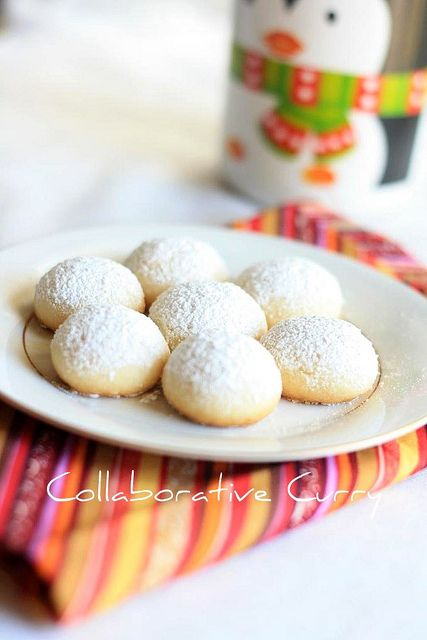 Melting Moments Cookies | Yummy! | Pinterest