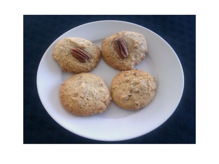 Pecan and Maple Syrup Cookies http://www.recipecommunity.com.au ...