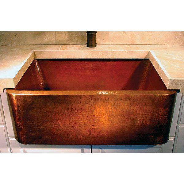 copper kitchen sink kitchen pinterest