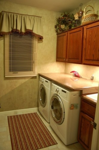 Countertop Above Washer And Dryer : Top over Washer and Dryer traditional laundry room by Fabulous ...