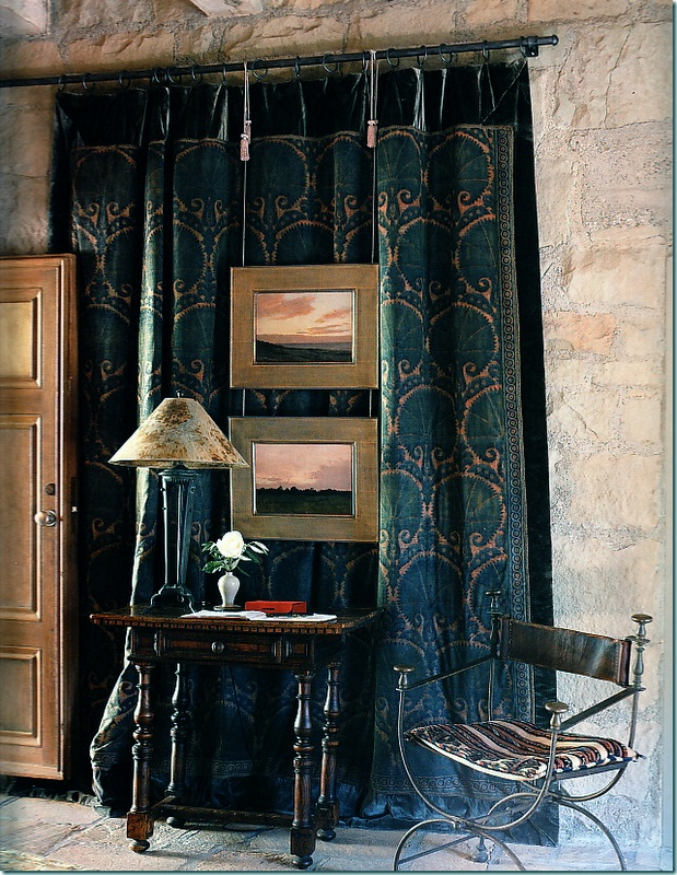 Tapestry curtains. | My favorite things... | Pinterest