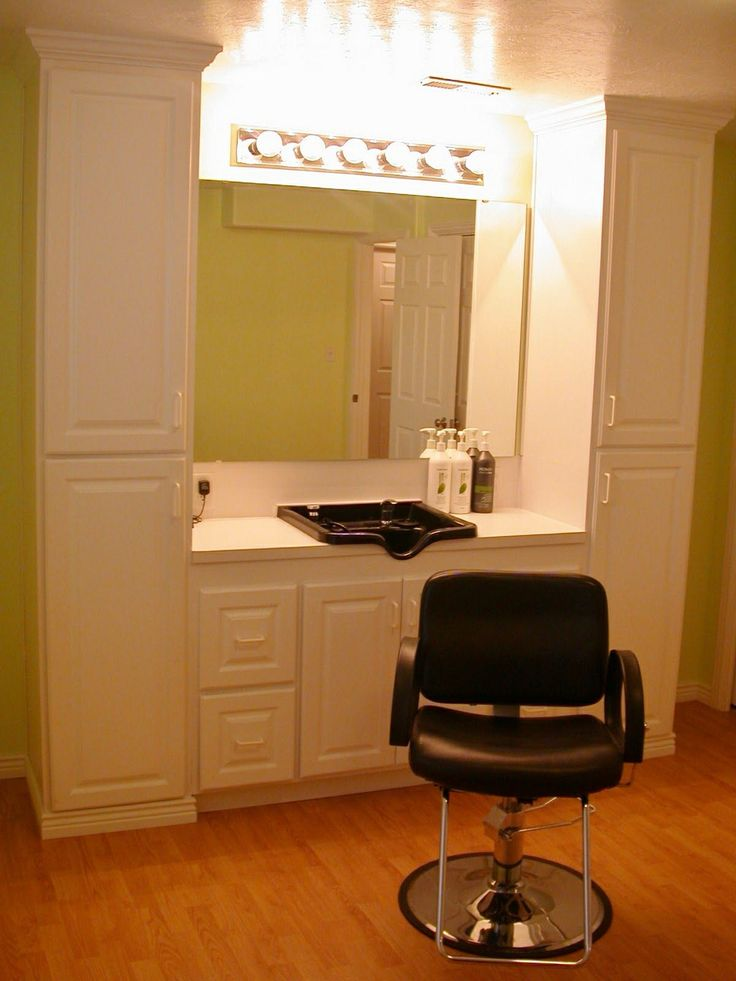 Small salon combo station color outside the lines pinterest - How to make a beauty salon at home ...